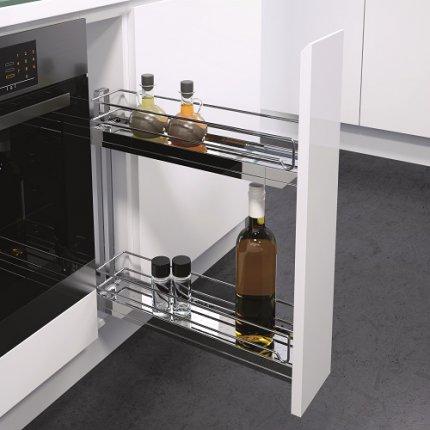 Бутылочницы 150 - мебельная фурнитура Blum официальный дилер в Санкт-Петербурге Vauth-Sagel фурнитура для кухни